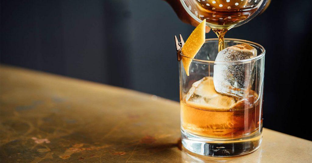 aerating whiskey